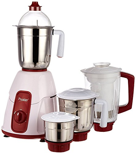 Prestige Elegant 750 Watt Mixer Grinder with 3 Stainless Steel Jar and...