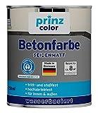 prinzcolor Premium Betonfarbe Bodenbeschichtung Bodenfarbe Sockelfarbe Anthrazitgrau 0,75l