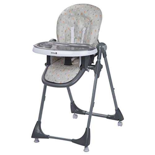 Safety 1st Kiwi Chaise Haute Reglable, de 6 mois à 3,5 ans, Warm Grey