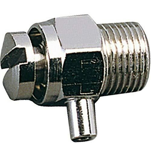 Purgador radiador 1/8 • Giratorio Manual • Universal • Purgador Calefaccion 1/8' - 1 Unidad