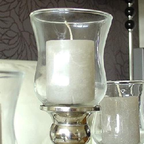Dekowelten 1 x 2. Wahl Teelichthalter Teelichtaufsatz aus Glas Glasaufsatz für Kerzenleuchter - Kerzenständer - Adventskranz