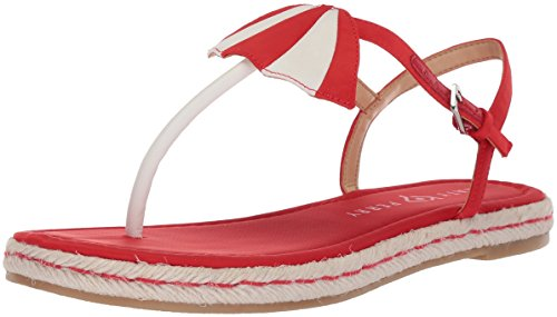 Katy Perry Damen The Shay Flache Sandale, Spanisch Rot, 40.5 EU