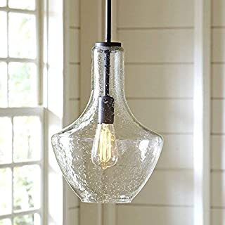 Designer Light Bulbs - Will not Break in Shipping - 60w Dimmable Industrial Pendant Filament Amber Color Light Bulbs - Vintage Style Home Design for Wall Sconces, Chandeliers - E26/E27 6 Pack