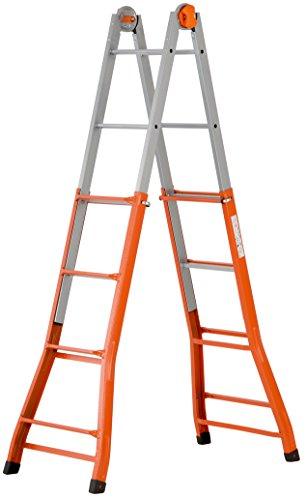 Gierre Peppina - Escalera telescópica (acero, número de peldaños por...