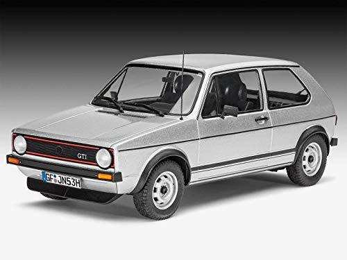 Revell RV07072 VW Golf 1 GTI 1974 KIT 1:24 MODELLINO Model kompatibel mit