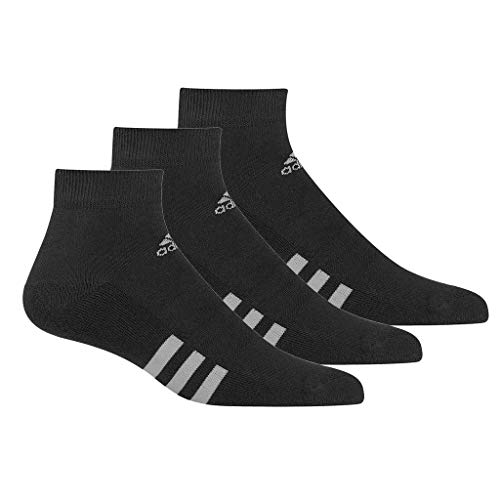 adidas 3-Pack Ankle Calcetines Deportivos, Hombre, Negro (