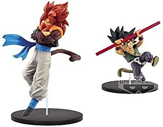 Banpresto Dragon Ball Super Son Goku Fes!! Vol.7 SS4 Gogeta & Son Gokou Set of 2