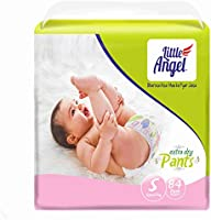 Little Angel Baby Diaper Pants, Small (Upto 7 kg), 84 Count