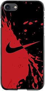 Nike Red Water Splash Background iPhone Case (iPod 6)