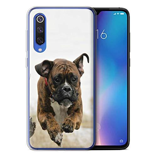 eSwish beschermhoes van TPU-gel voor Xiaomi Mi 9 SE/serie: rassen/honden, populaire boxershorts