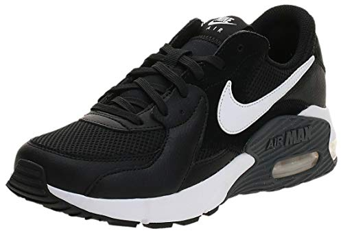 Nike Air MAX Excee, Zapatilla de Correr Hombre, Multicolor (Black White Dk Grey), 47.5 EU