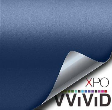 VViVID XPO Matte Metallic Navy Blue Vinyl Car Wrap Film Roll (1ft x 5ft)