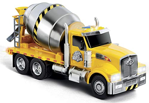 Fast Lane L&S Cement Truck, Yellow, AD12499