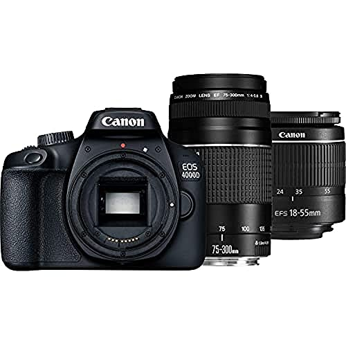 Canon EOS 4000D Kit + EF-S 18-55 DC III...