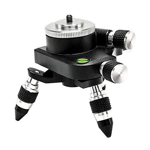 earlyad Adaptador de Adaptador de Nivel láser de 12 líneas Adaptador de Metal de 360...