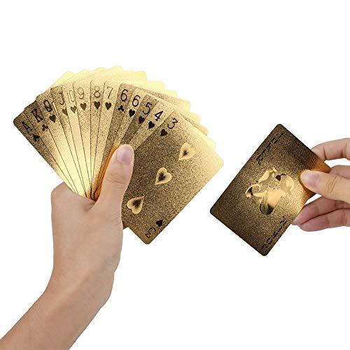 Rosepoem Vergoldet Poker Poker Goldfolie Spielkarten Luxus Pokerkarten Aus Für Casino & Poker Kunststoff