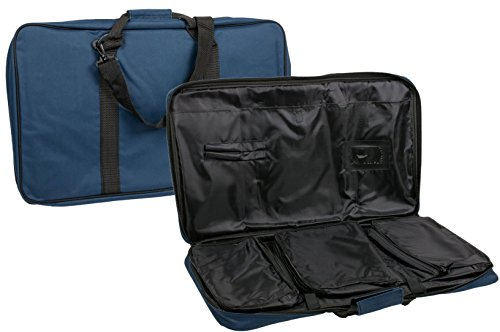 The Ultimate Chess Bag - Navy - by US Chess Federation