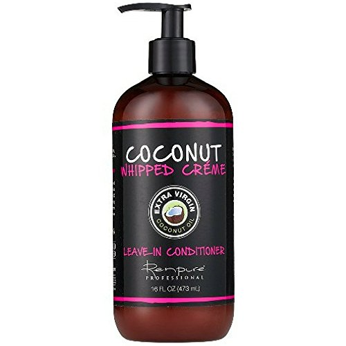Renpure Coconut Whipped Creme Leave-In Conditioner, 16 oz (Pack of 3)