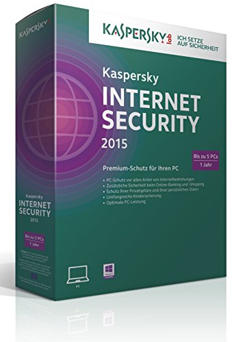 Kaspersky Internet Security 2015 - 5 PCs [import allemand]
