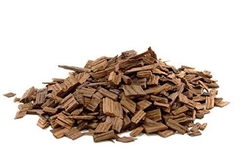 Eichenholzchips Französisch (Heavy Toasted) 20g - Französische Eichenholzchips | Eichenholzspäne | Räucherholz | Eichenholz Chips | Holzspäne | Holzfässer