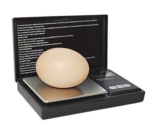 FINCA CASAREJO Balanza Digital para Peso de Huevos - Controla el Peso de los Huevos de Ave Durante la incubación - Báscula de Alta precisión