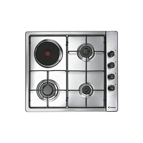 CMG 3 H1X - Plaque de cuisson 3 feux à gaz + 1 plaque électrique, largeur 60 cm