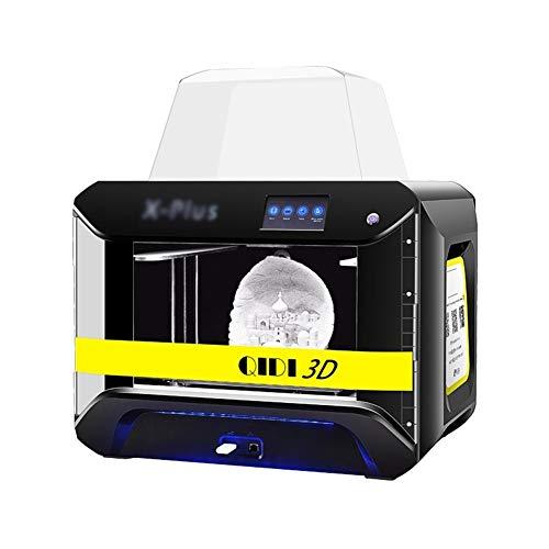 LINDANIG 3D imprimante X-Plus Grande Taille de qualité Industrielle Intelligente mpresora 3D WiFi Fonction Haute précision d'impression (Couleur : Noir)