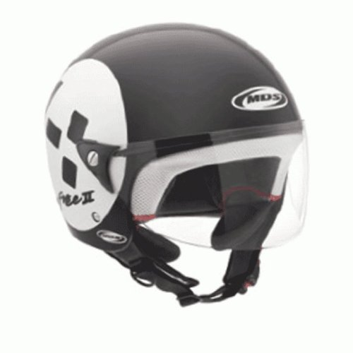 Casco Mds Free Ii Multi Emotion 2012 NEGRO/BLANCO T-L