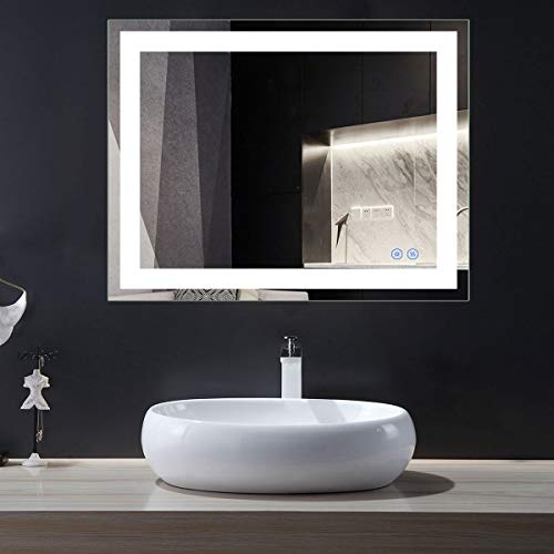 Choosing The Best LED Vanity Mirror: Four Products To Look At In 2018: DECORAPORT 36 Inch