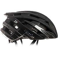 Zero RH+ Helmet ZY - Casco de Bicicleta Permanente Unisex – Adulto, Matt Black – Shiny Antracita Metal, XS/M