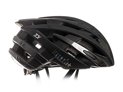 zerorh+ Helmet ZY, Caschi Bici Bike Helmets Permanent Unisex – Adulto, Matt Black-Shiny Anthracite Metal, L/XL