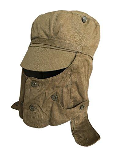 Ganwear Original UdSSR Sowjetarmee Militär Afghanistan Kriegskampf Mütze Hut Maske...