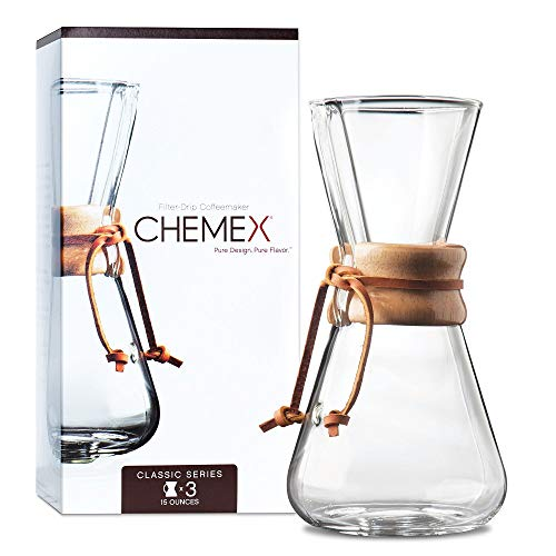 Chemex Drip Coffee Maker 1 -3 Cup