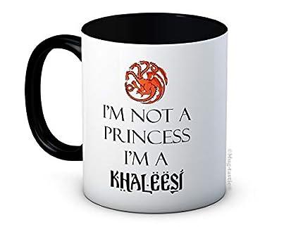 I'm Not a Princess I'm a Khaleesi - Game of Thrones - Taza de Café de Cerámica