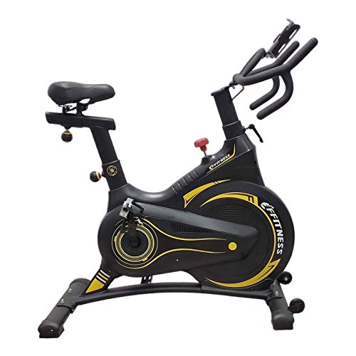 FFitness Spin Bike Carenata con Freno Magnetico | Cyclette Fit da Interno con Porta Cellulare e Tablet | Volano 13kg