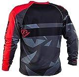 Mountainbike-Trikot,MTV Shirt Trägershirt,Herren Downhill Trikots Mountainbike MTB Shirts Offroad Dh Motorrad Trikot Motocross Sportbekleidung Kleidung M
