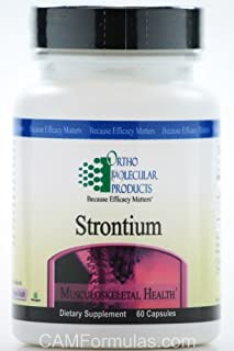 Strontium (60 Caps) by Ortho Molecular Products