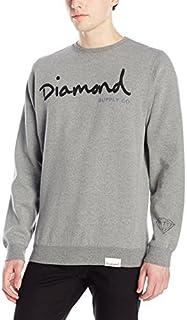 Diamond Supply Co. Men's Og Script Crewneck Sweater