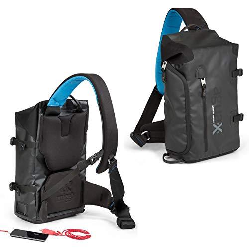Miggo Agua Sling Pack Tasche mit Schultergurt, Schwarz