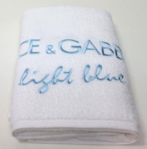 DOLCE & GABBANA - Asciugamano da spiaggia e bagno, con tasca con cerniera