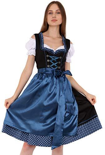 Lifos 1302 Trachtenkleid 3Tlg. Dirndl Oktoberfest Gr.34 bis 52 !!ORIGINAL!! (46)
