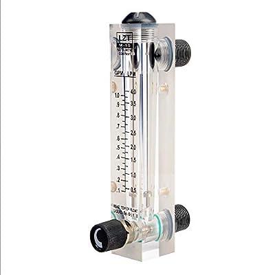 tatoko LZT M-15 0.1-1GPM 0.5-4LPM Water Flow Meter Panel Mount Type FlowmeterMeters