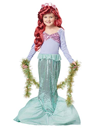 California Costumes Girls Little Mermaid Child Costume