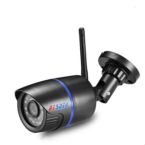 N/A Cámara BESDER Yoosee Cámara IP WiFi P2P CCTV Impermeable al Aire Libre cámara de Bala de vigilancia con 20 Metros de visión Nocturna