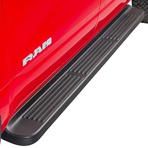 Ionic Factory Style Running Boards Compatible with 1996-2016 Chevy Express Van 100' Driver & Passenger Boards Only Truck Side Steps