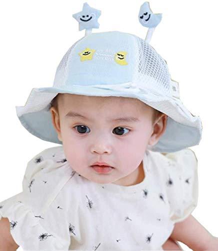 LILAODA Protector para la cara con tapa protectora para niños, visera transparente desmontable, a prueba de polvo, antivaho, multifunción, visera ligera perfecta, azul, large