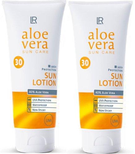 1a LR 3730 Aloe Vera SUN CARE Set - Sonnenlotion - Sun Lotion --- LSF 30 --- 2x 100 ml