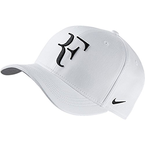 Nike Roger Federer U Nk Arobill Clc99 - Schirmmütze für Herren, Farbe Weiß, Universalgröße