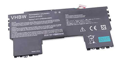 Batterie vhbw 3790mAh (7.4V) pour Ordinateur Portable, Notebook Acer Aspire Aspire S7 11\