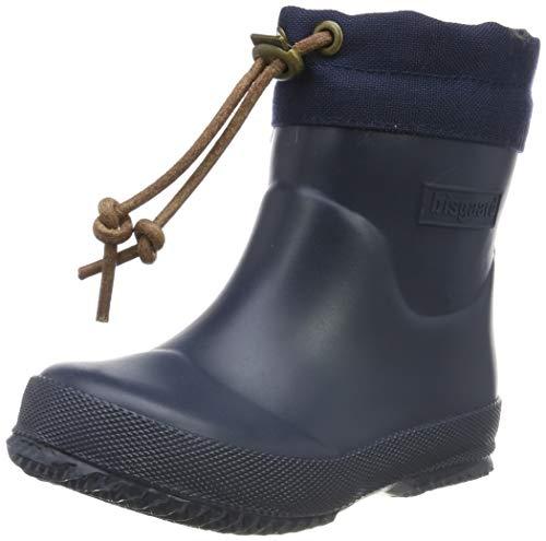 Bisgaard Unisex-Kinder Rubber Boot-Winter Baby Gummistiefel, Blau (Blue 20), 27 EU